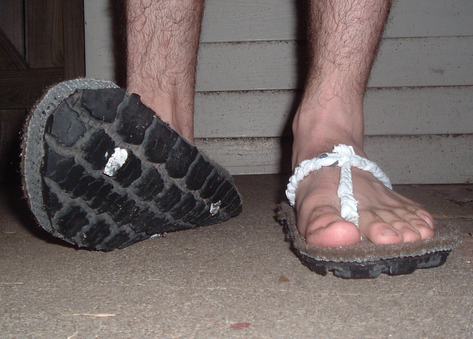 Blown Tire Shoes