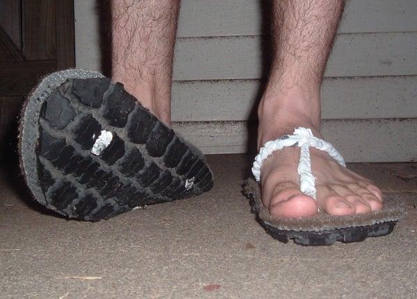 Blown Tire Shoes