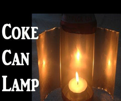 Coke Can Lamp