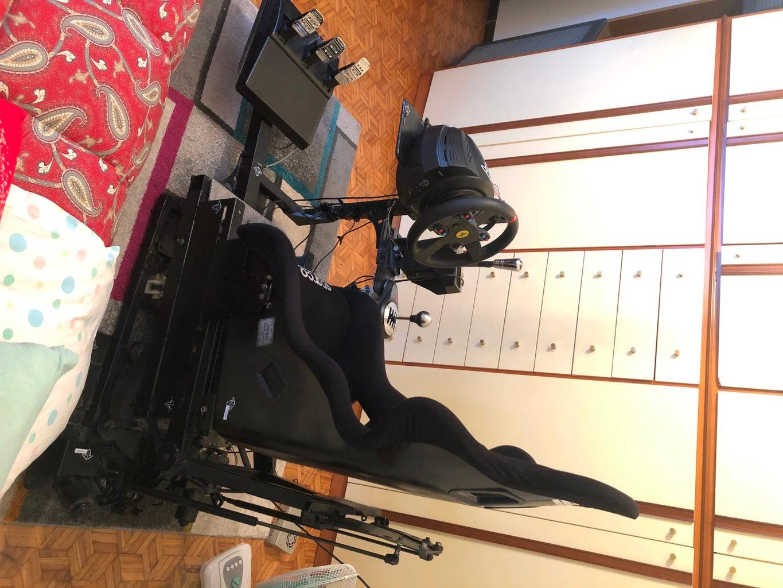 Simulator Driving With Arduino