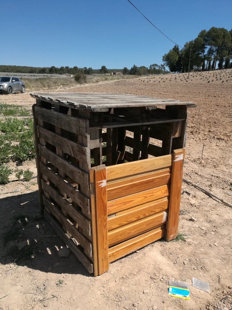 Composter With Recycled Materials
