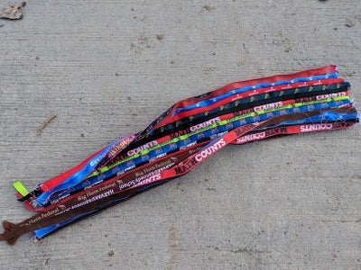 Sew the Lanyards Together
