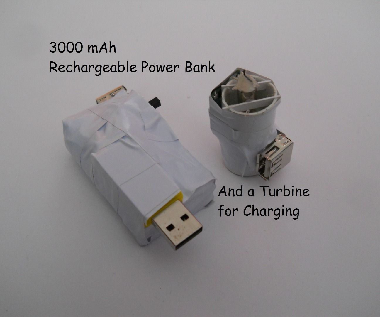 Device Charging with a Multi-turbine (on faucet, wind, bike, while sporting and etc.)
