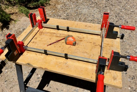 Clamp Set-up Blocks for Parallel or Bar Clamps