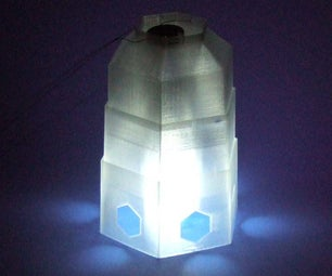 4D Printing: Make a Collapsible Lantern