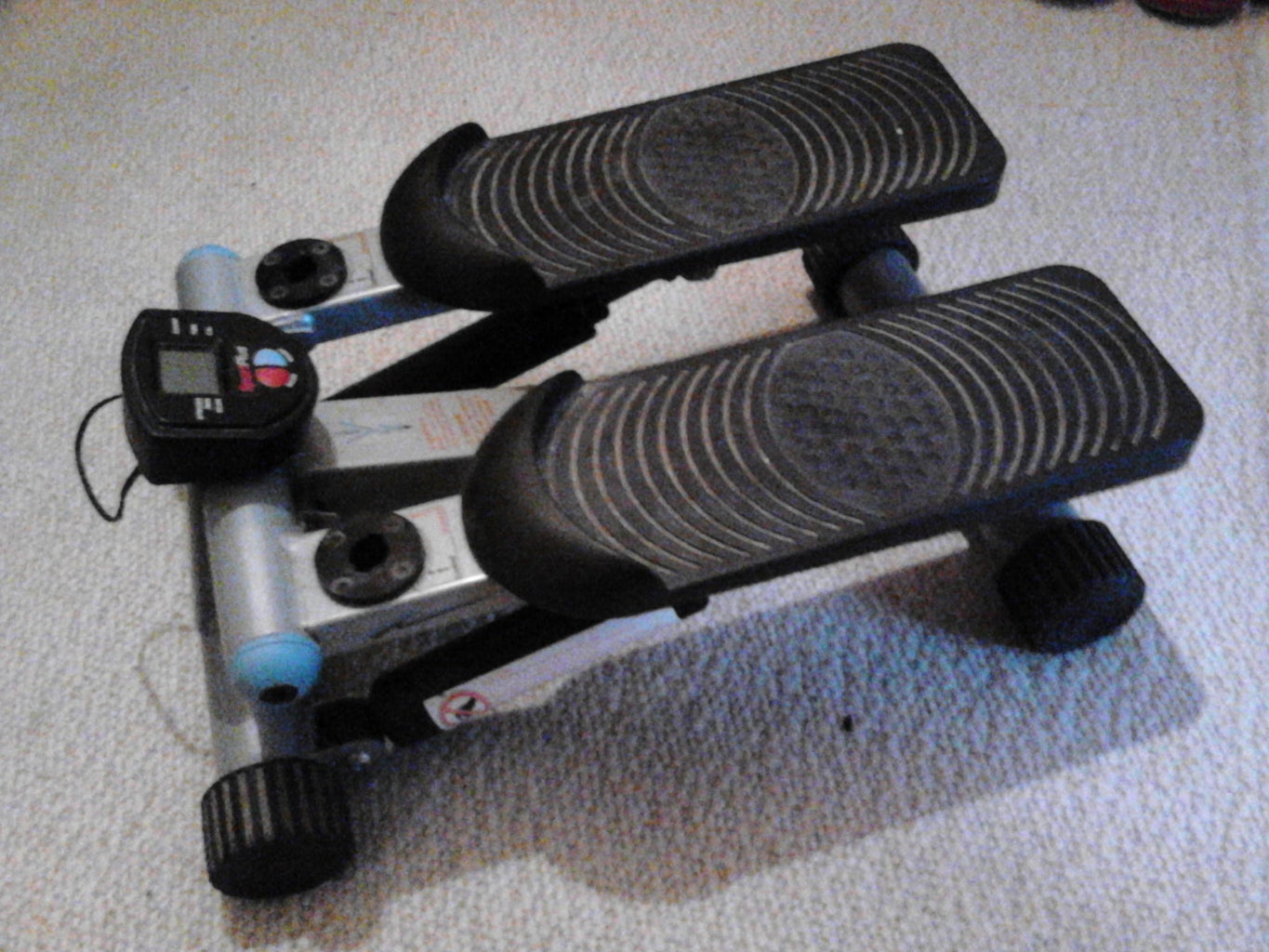 Indoors Workout Stepper With Raspberry Pi & Arduino Iot