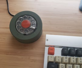 Vintage Rotary Phone Dial PC Volume Control
