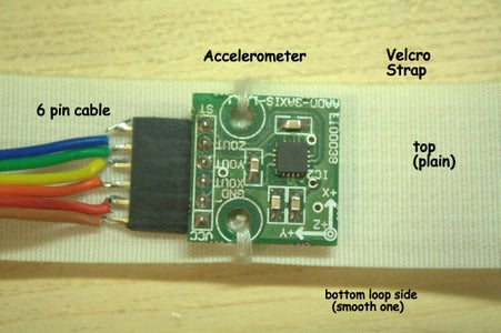 AXIS GLOVE    -    Accelerometer Strap