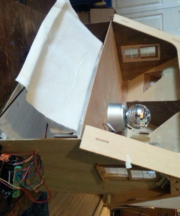 Solar Powered Miniature Smart House
