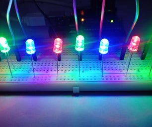 Arduino LED Chaser ( With 5 Effects )
