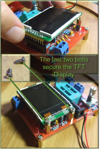 7 Install the TFT Color Display (160x120) 16-bit