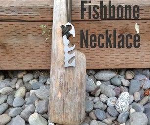 Fishbone Necklace