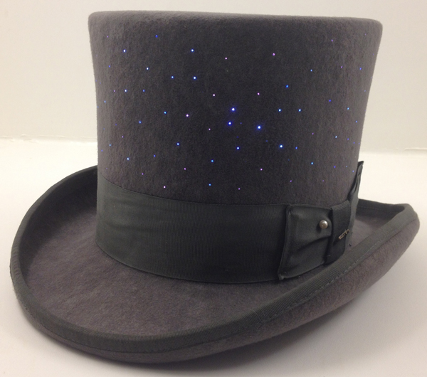 My hat, it's full of stars!