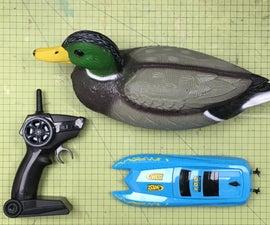 Dave - the Remote Control Duck