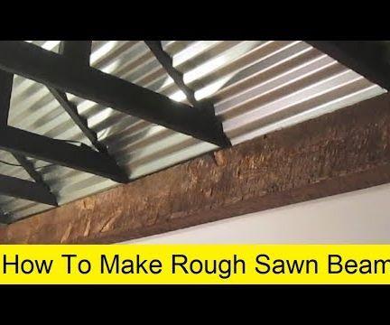 Rough Sawn / Hewn Beams