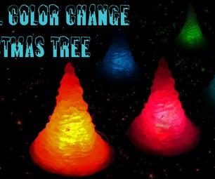 Small Color Change Christmas Tree