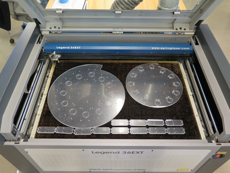 Laser Cut Acrylic Components