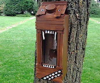 Wookiee-Style Birdhouse