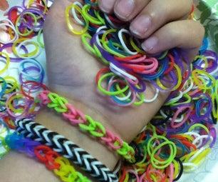 Simple Rubber Band Bracelet