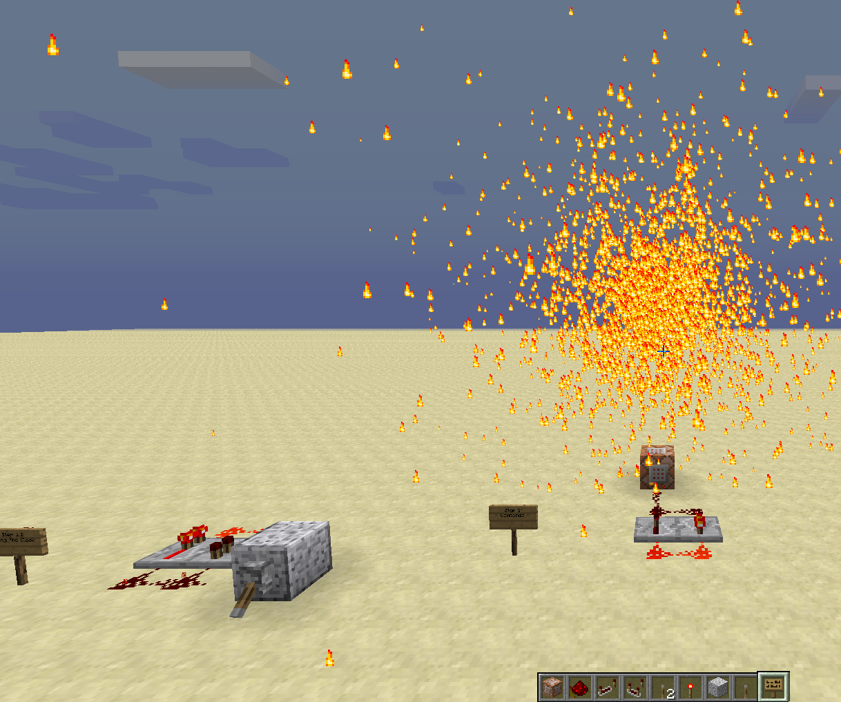 Minecraft Particle Machine
