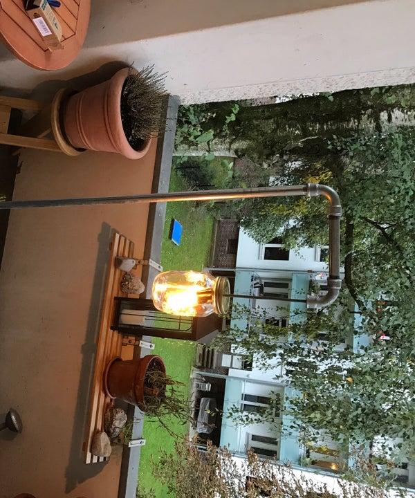 DIY Pipe Floor Lamp