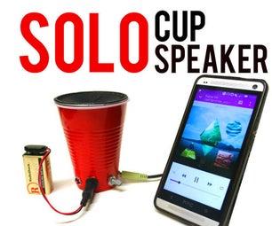 SOLO Cup Speaker