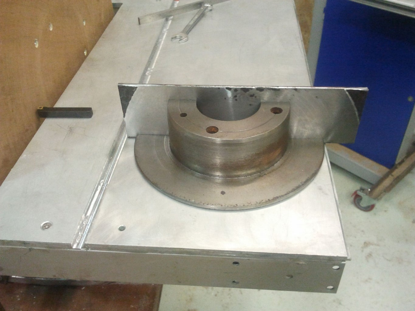 Mitre Gauge 3 of 3 - Milling, Angle Arc & Assembly