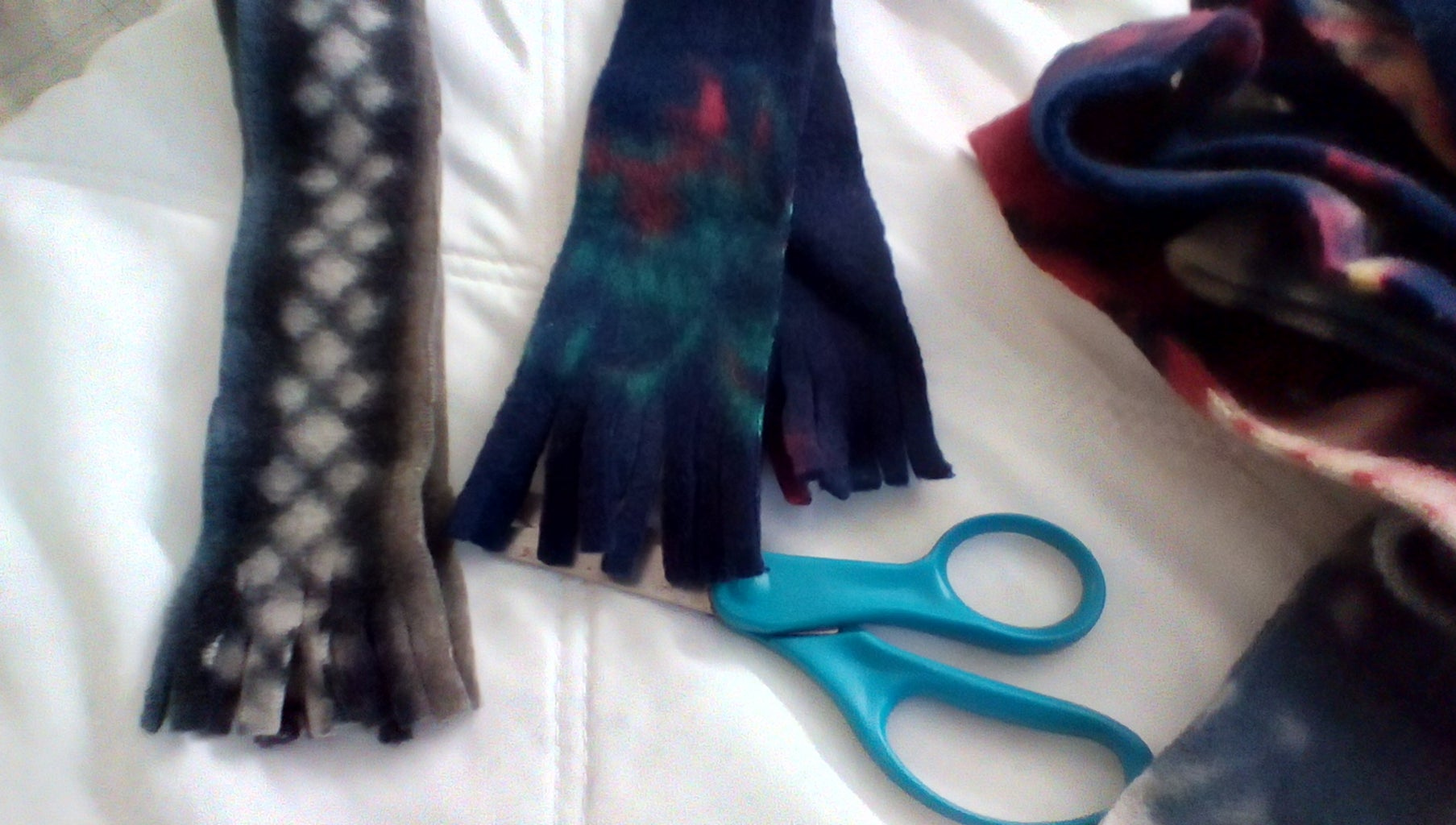 Making the Hat and Scarf