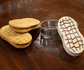 Making Homemade Nutter Butters With a Custom Cookie Stamp