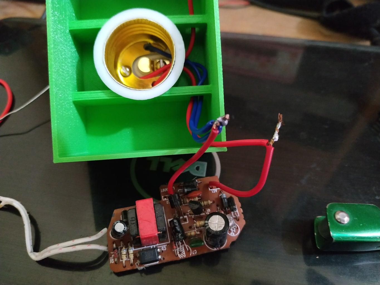 Assembling of Power & Relay Board