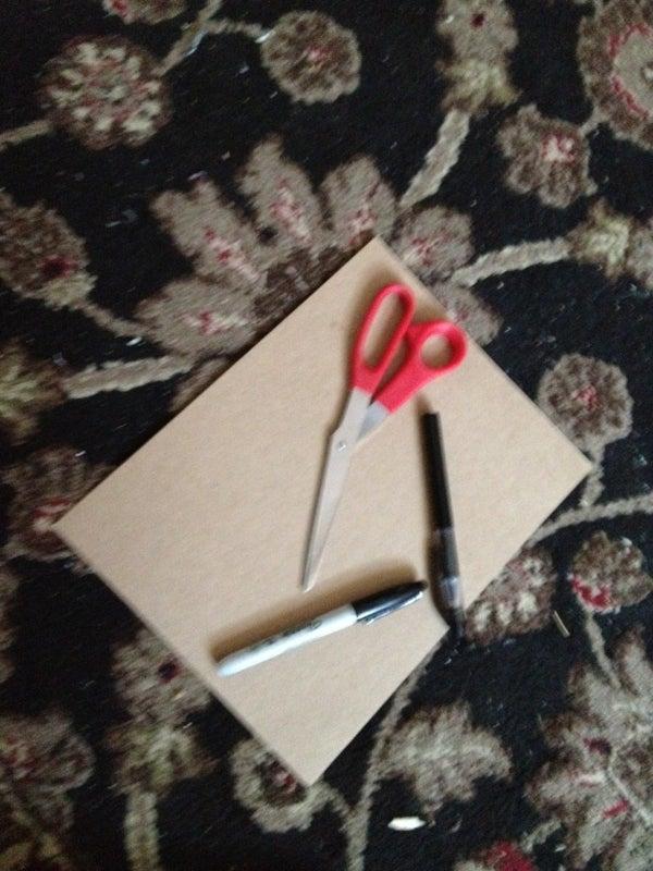 Cardboard I Phone Case