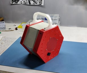 3D Printed Cement Bluetooth Speaker!