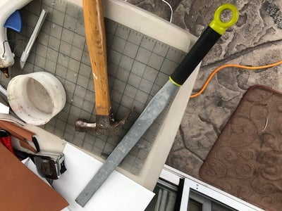 Making the 300 Inspired Spartan Sword