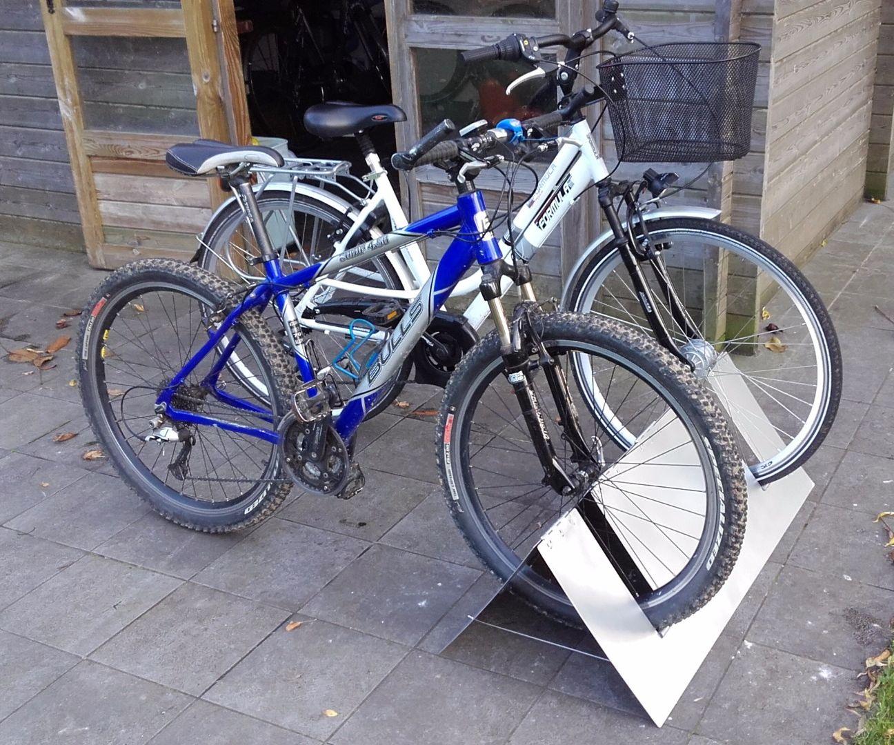 flat pack bicycle rack