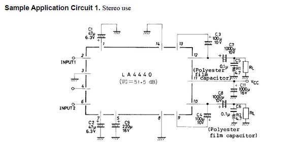 ATTACHMENTS FOR AMPLIFIER CIRCUIT