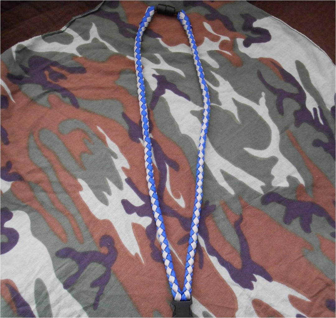 Neck Part of the Lanyard