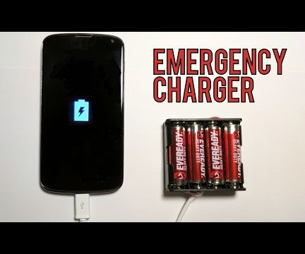 Emergency Mobile Charger Using AA Batteries