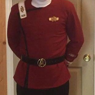 Star Trek Movie Jacket TWOK (The Wrath of Kahn) Costume
