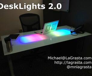 LED Glass Desk V2.0