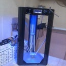 DIY Delta 3D Printer Using Low Cost Recycled Parts