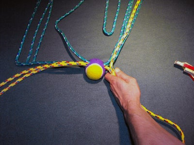 Split 4 Ropes Into 2 Groups of 2