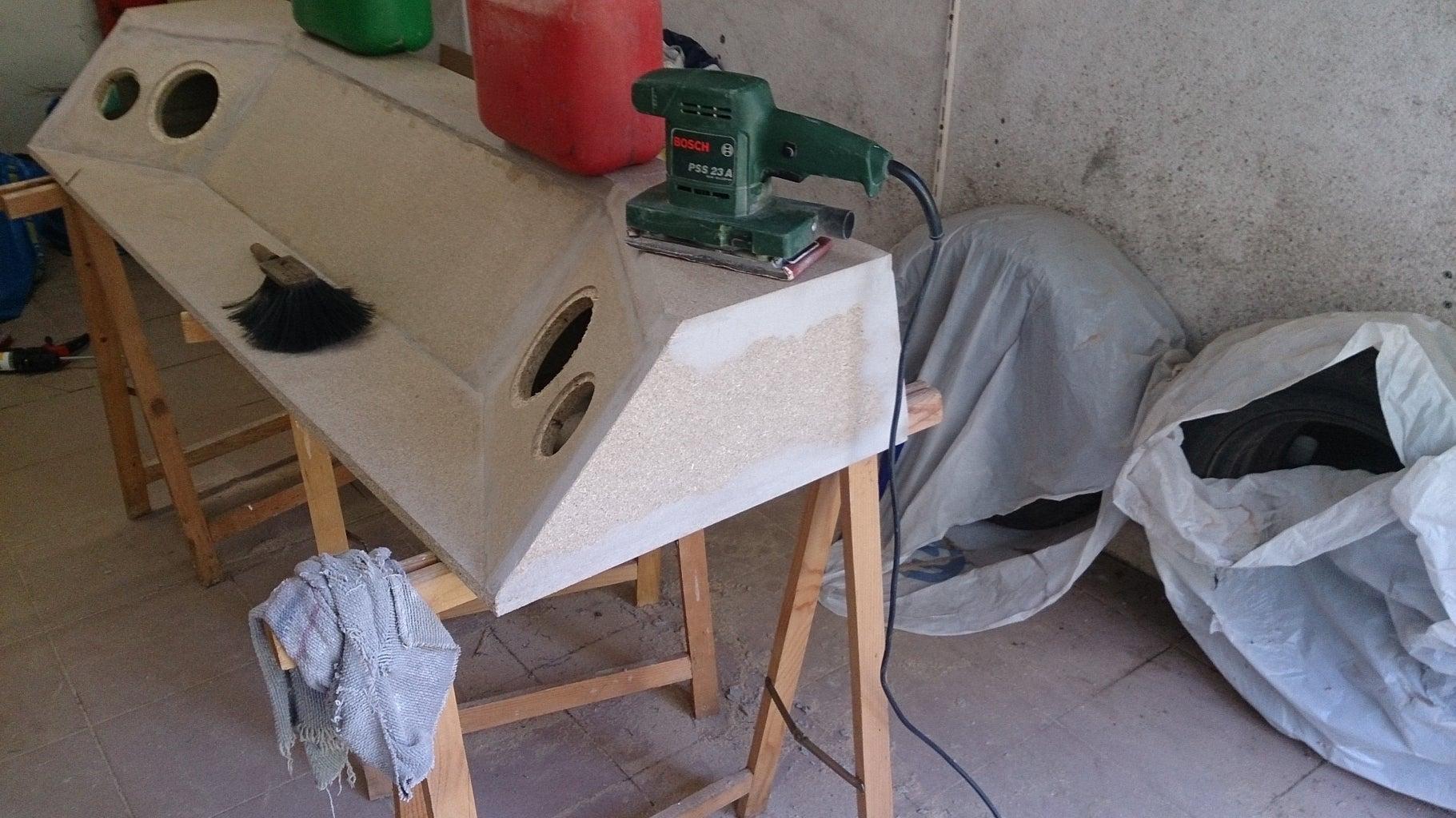 Sanding the Workpiece