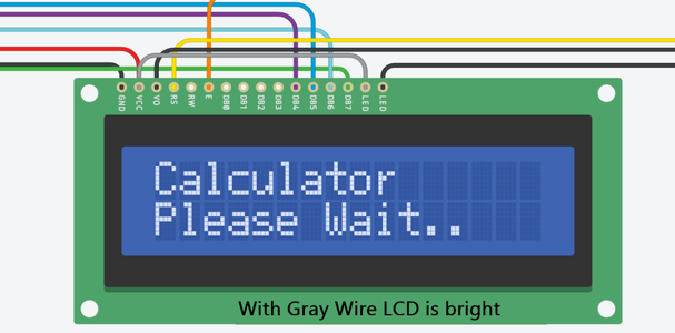 Finalize LCD Connections