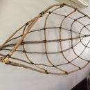 Canoe Frame Wall Hanging From Tree Prunings