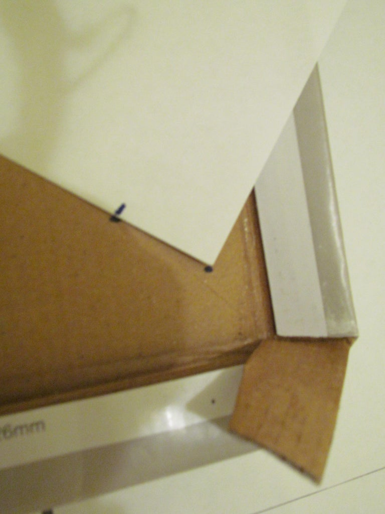 The Diagonal Mark