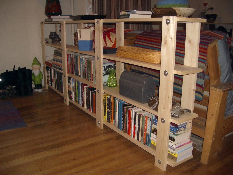 Cheap, Easy, Low-waste Bookshelf Plans