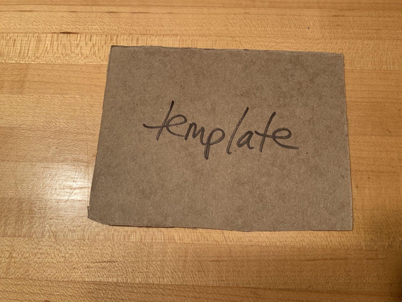 Cut Cardboard (pics 1-6) and Paper (pic 7)