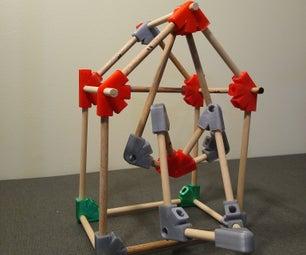 3D Printed Dowel Connectors