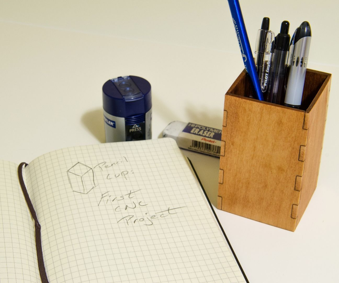 Pencil Cup: First CNC Project