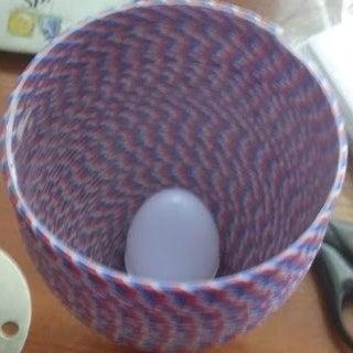 Designer Paper Yarn Lamp